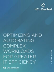 Optimizing and Automating Complex Workloads for Greater IT Efficiency