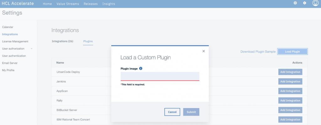 accelerate custom plugins